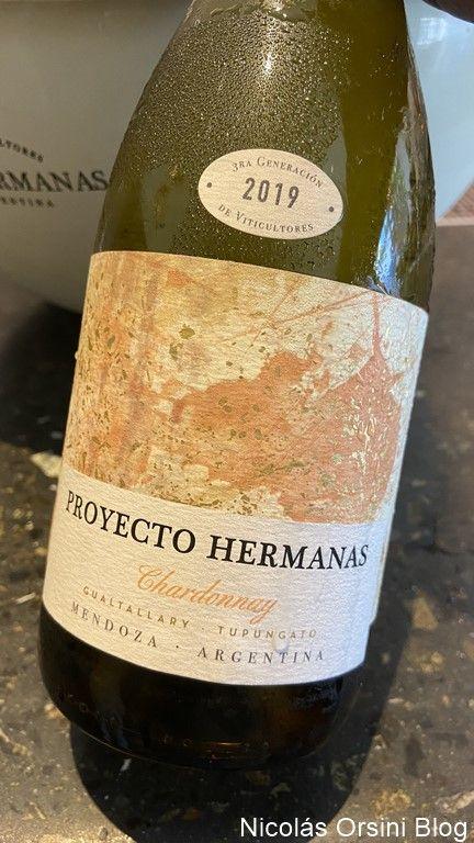 Proyecto Hermanas Chardonnay 2019