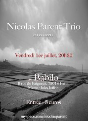 Nicolas Parent trio (2011)