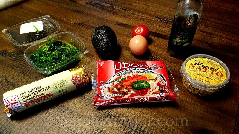 natto noodles ingredients