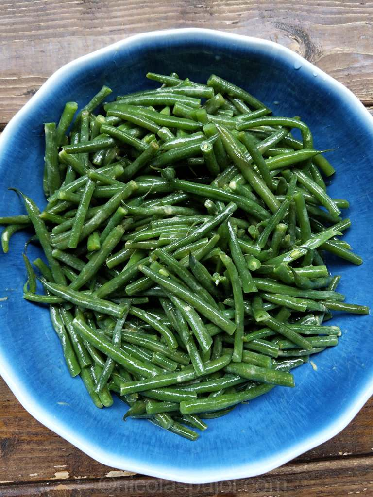 Simple green beans salad recipe