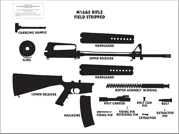 Ar 15 Exploded Diagram, Ar, Free Engine Image For User