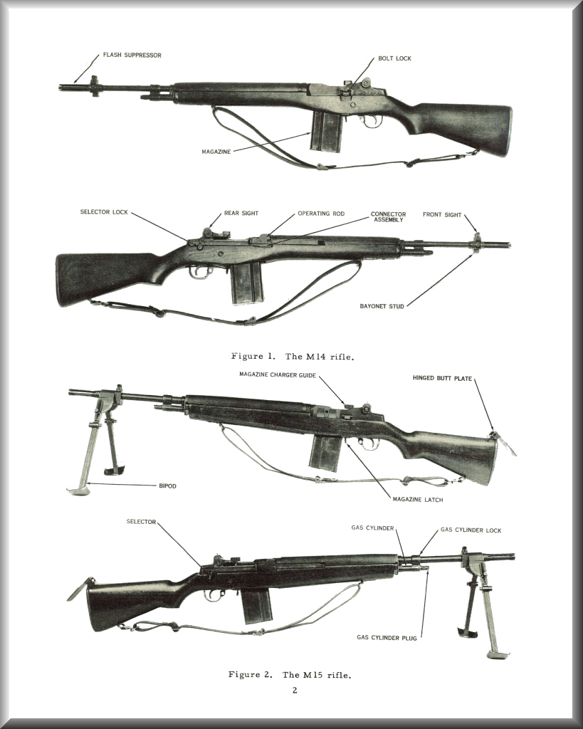 M14 Info, Blueprints, Posters, Mouse Pads, Coffee Mugs