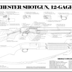 Browning Hi Power Parts Diagram 2004 Subaru Outback Exhaust System Winchester Rifle Diagrams