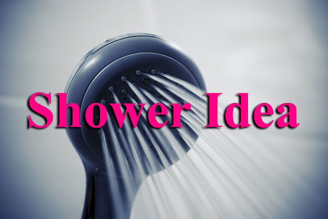 Shower Idea - A Writing Journey Update
