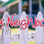 Festival of Drabbles 2015 - My Neighbour