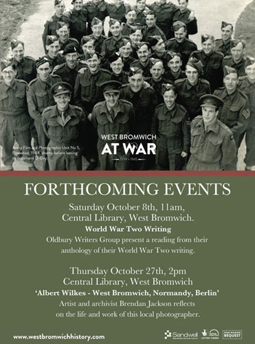 Oldbury Writing Group Event – World War Two Anthology Reading