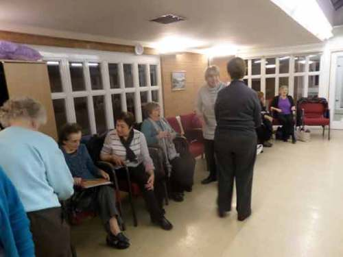 Oldbury Writing Group Book Reading Event – The Wives Methodist Group - The audience left