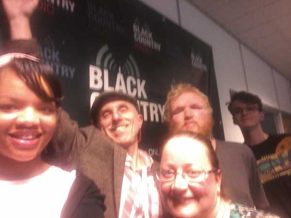 Oldbury Writing Group Book Tour - My First Radio Interview - Group Selfie time