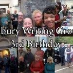 Happy 3rd Birthday Oldbury Writing Group