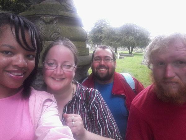 Wood Green Cemetery Group Selfie