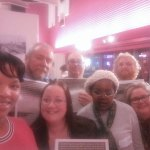 Fabrication Made in Oldbury - Launch of Oldbury Writing Group's Creative Writing Newspaper - Group selfie