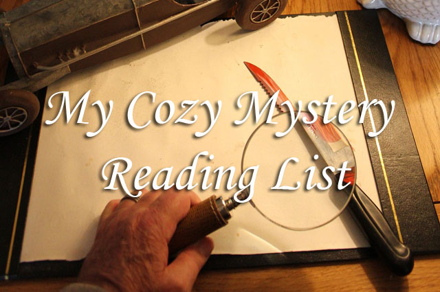 My Cozy Mystery Reading List