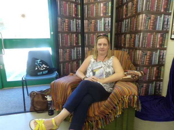 My Time at the First Chase BookFest - Laura Pearson