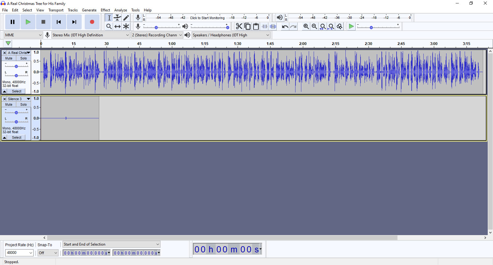 Creating the Audiobook - Step 2