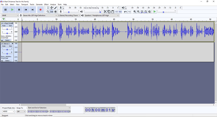 Creating the Audiobook - Step 9