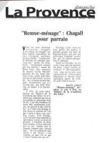 Remue-ménage - La Provence