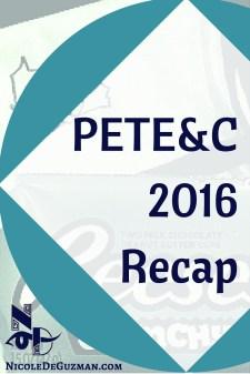 PETE&C 2016