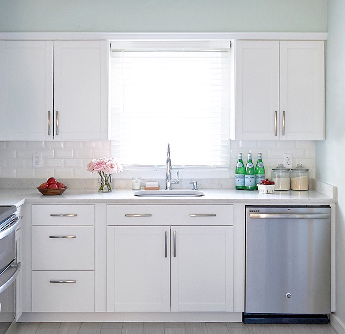 A Classic White Kitchen Makeover On A Budget Nicole Gibbons Style