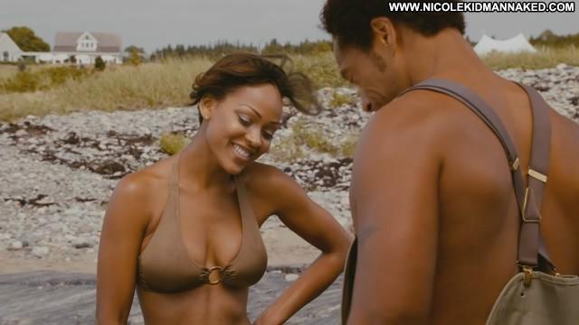 Meagan Good Nude Sexy Scene Jumping The Broom Ocean American