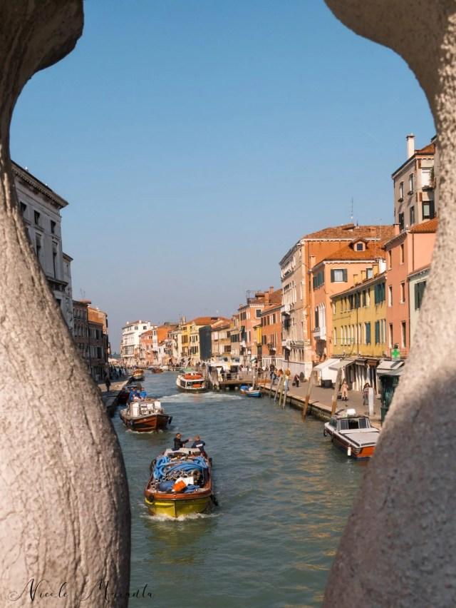 Canale dal ponte di Rialto- Nicole Maranta