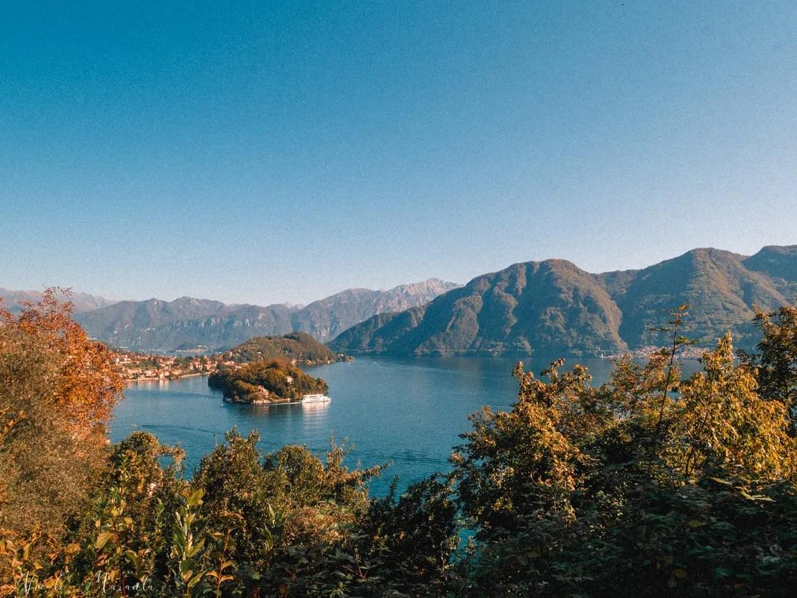 Vista dalla Greenway sul Lago di Como - Nicole Maranta