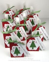 kleine Weihnachts-Mitbringsel | Nicoles Kartenwerkstatt
