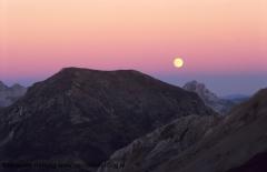 Moonrise Peña pequeña 0
