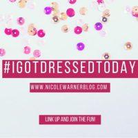 #Igotdressedtoday