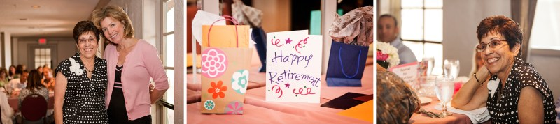 Triptych of a Retirement Party