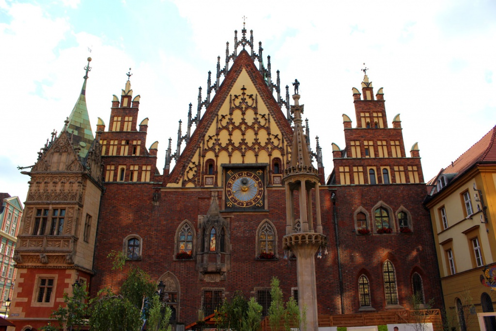 tips-Wroclaw-staedtetrip-markt-town hall Astronomical horloge