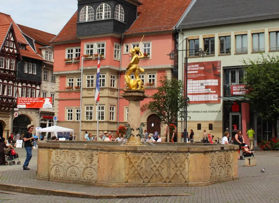 altstadt-eisenach-georgsbrunnen
