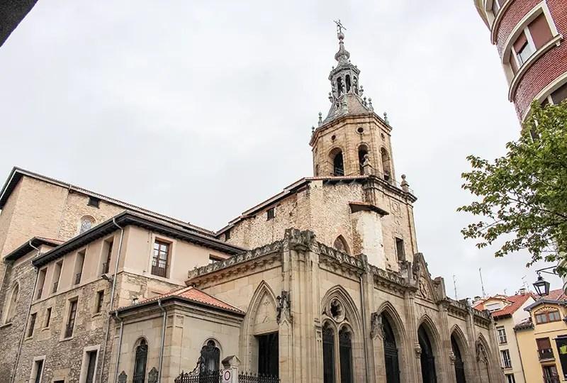Bezienswaardigheden van Vitoria-Gasteiz Cathedral_Santa_María_Vitoria