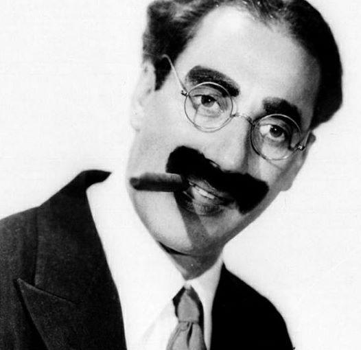 Aforisma Groucho Marx su Idiozia