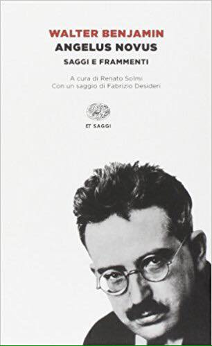 Angelus Novus, di Walter Benjamin