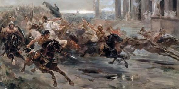 Konstantinos Kavafis, Aspettando I Barbari