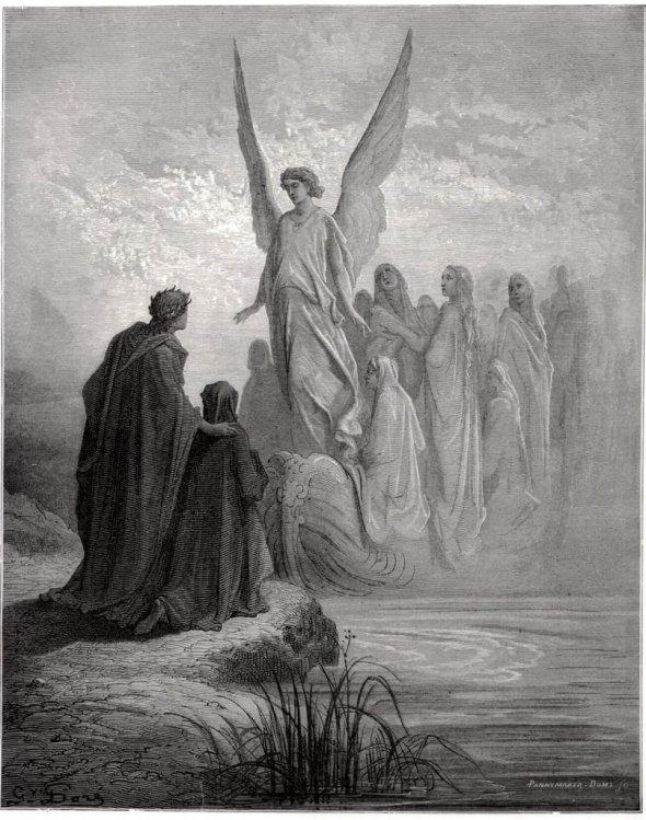Dante, Purgatorio. Caratteri generali