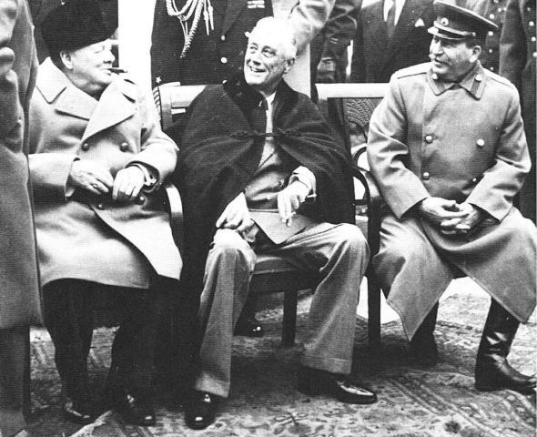 Churchill-Roosevelt-Stalin-Yalta-1945