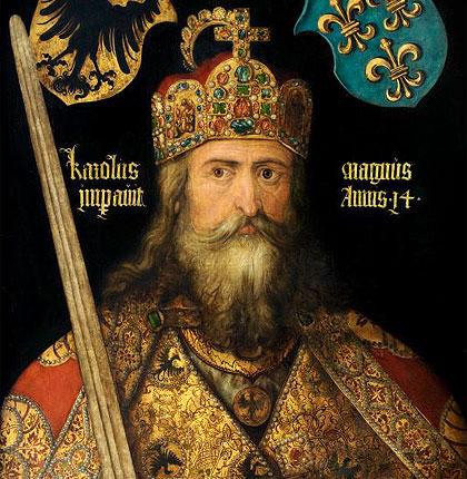 I Franchi e l'Europa carolingia.