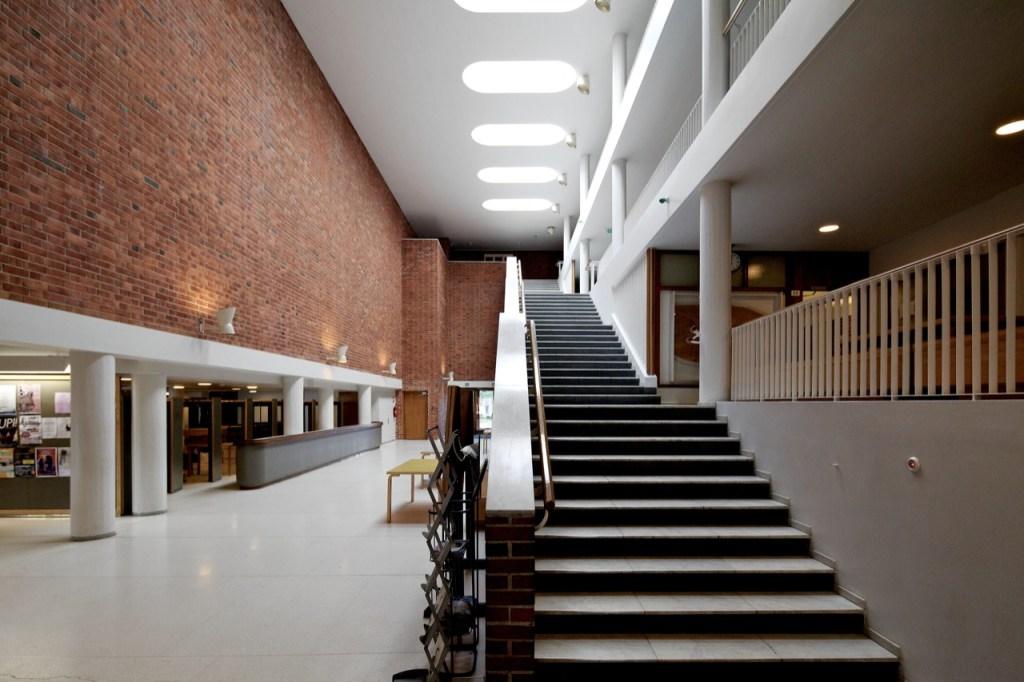 Jyvaskyla University Campus by Alvar Aalto