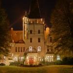 Schloss Tremsbüttel in goldenem Licht
