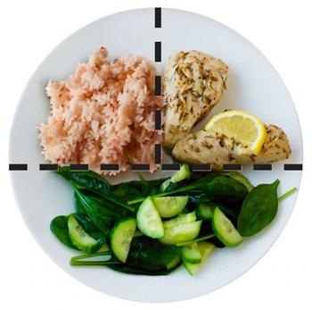 NewPlatefood linesWhiteDS - La diabetes Tipos y prevención de enfermedad