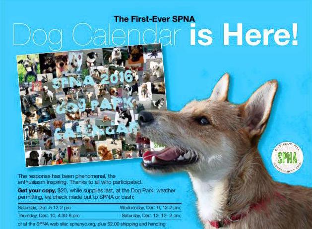 SPNA Calendar 2016