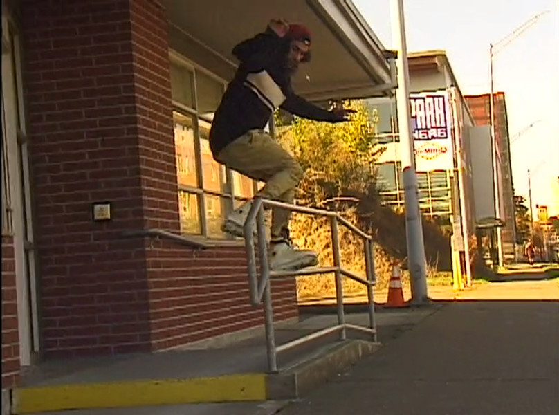 Josiah Blee Fakie 180 FS Fast Slide to tap 180 out