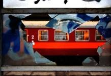 Wernisaż wystawy fotografii Witolda Jacykowa - Ballady kolejowe Niebywałe Suwałki 2