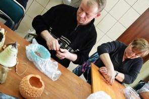 Warsztaty ceramiczne i pamiątkarskie w Nowince Niebywałe Suwałki 2