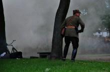 Atak z powietrza – inscenizacja historii w obiektywie Niebywałe Suwałki 89
