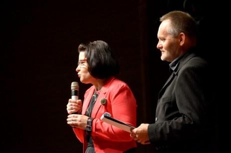 Na zdj. Elżbieta Niedziejko i Jan Życzkowski