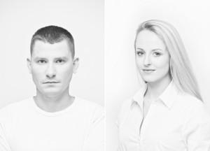 Na zdj. Natalia Sakowicz i Mateusz Witczuk (fot. Bartek Warzecha).