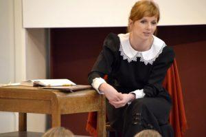 Na zdj. Magdalena Wołowska-Rusińska z Muzeum im. Marii Konopnickiej.