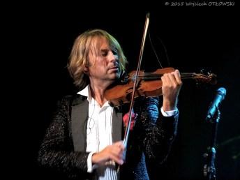 """13.09.2015, Suwalki, Sala Duza - Suwalskiego Osrodka Kultury; Bogdan Kierejsza - """"Violin Symphony Show"""". © 2015 Wojciech OTLOWSKI"""